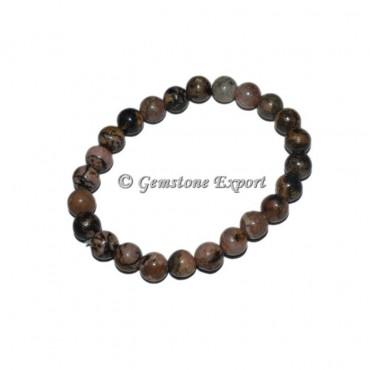 Rhodochrosite Gemstone Bracelets