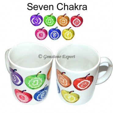 Chakra Printed Cup on Ceramic Cup