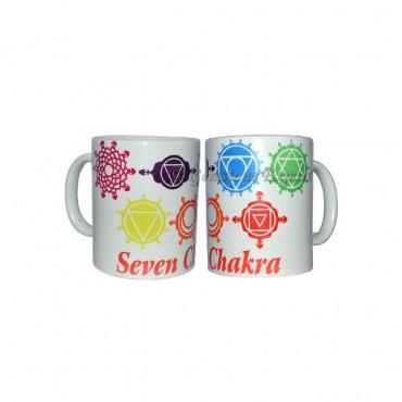 Seven Chakra Printed Mug