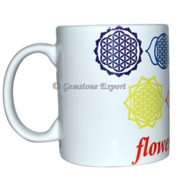 Flower Of life Printed Mug