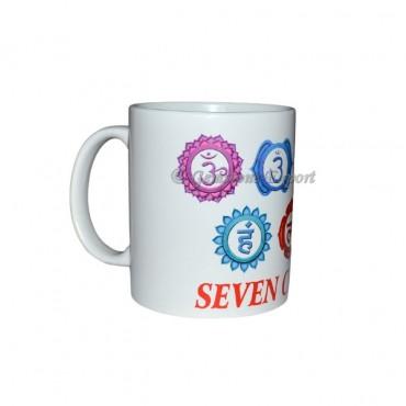 Chakra Accent Symbol Printed Mug