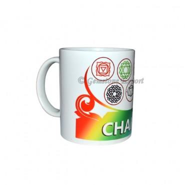Rainbow 7 Chakra Printed Mug
