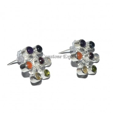 7 Chakra Stone Earrings