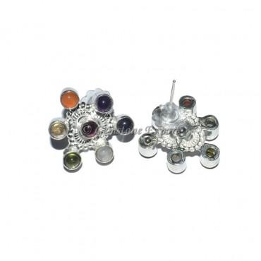 Unique Seven Chakra Earring