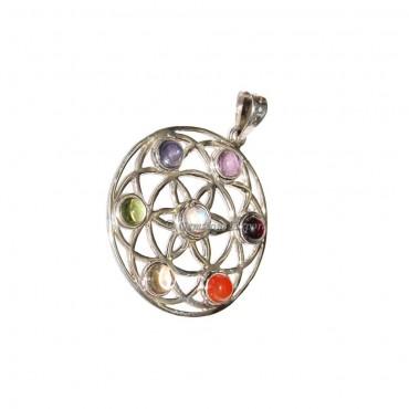 Mandala Chakra Chakra pendant