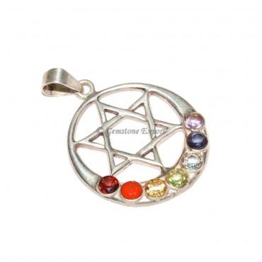 Seven Chakra Star Pendants