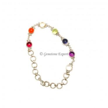Seven Chakra Bracelets 925 Silver