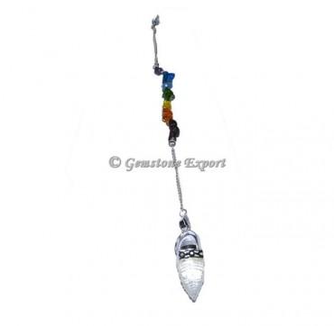 Shree Yantra 7 Chakra Pendulums