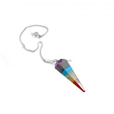 Seven Chakra Cone Pendulums