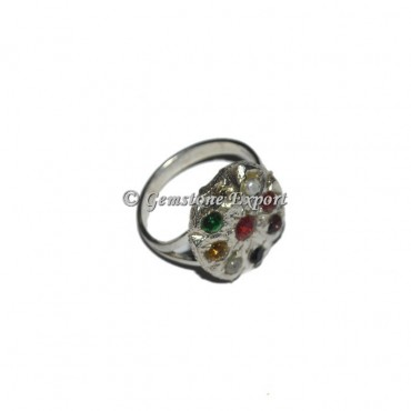 The Nine Planets Chakra Gemstones Ring