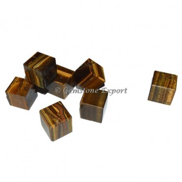 Tiger Eye Cubes