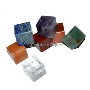 Mix Chakra Stone Cubes