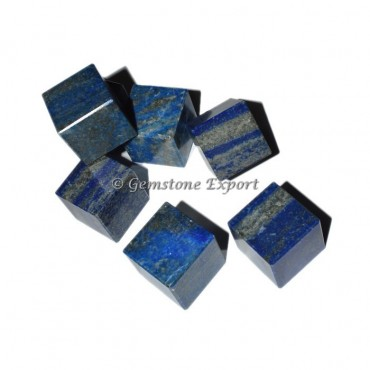 Lapis Lazuli Cubes