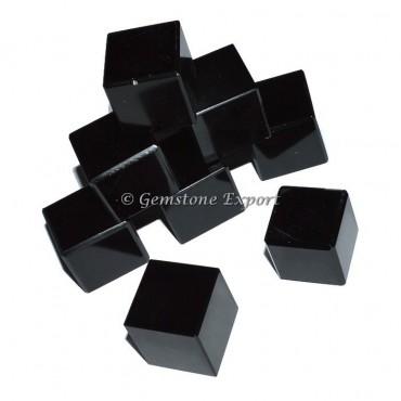 Black Obsidian Cubes