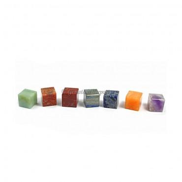 Seven Chakra cubes