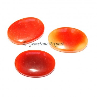 Red Onyx Oval