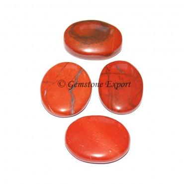 Red Jasper Oval Cabochons