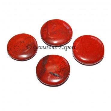 Red Jasper Round Disc