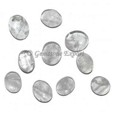 Crystal Quartz Oval cabs