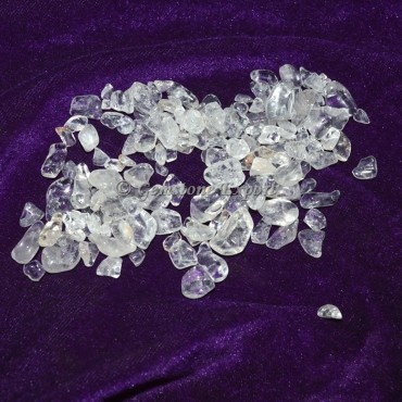 Crystal Quartz Chips Stones