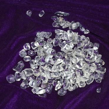 Brazilian Crystal Quartz Chips Stones