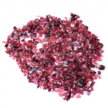 Garnet Chips Stones