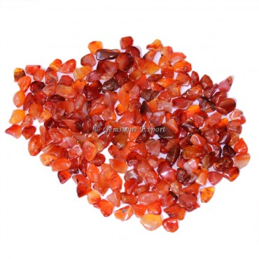 Carnelian High Quality Chips Stones