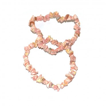 Rhodonite Chips Bracelets