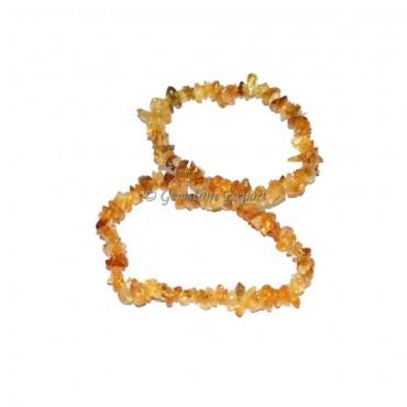 Citrine Chips Bracelets