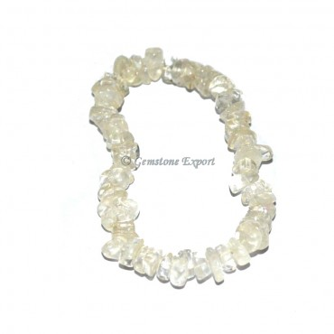 Crystal Quartz Chips Bracelets
