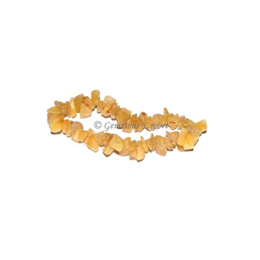 Yellow Aventurine Chips Bracelets