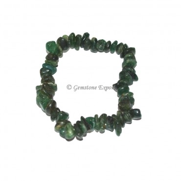 Green Jade Chips Bracelets