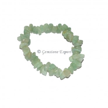 light Green Aventurine Chips Bracelets