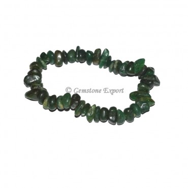 Green Myka Chips Bracelets