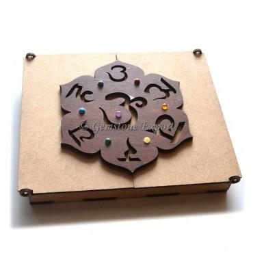 Unique Seven Chakra Gift Box With Chakra Stone
