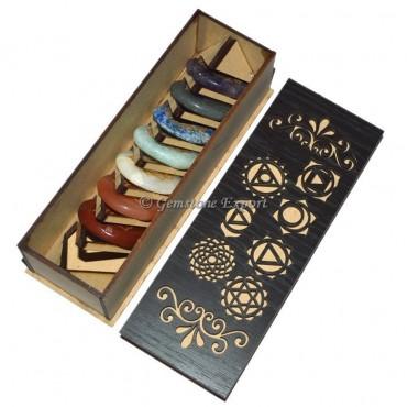 7 Chakra Gift Box With Chakra Symbols