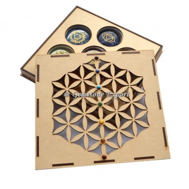 Flower Of Life 7 Chakra Gift Box