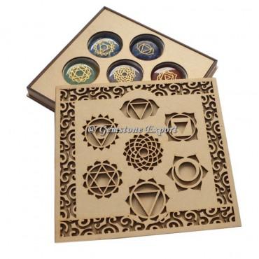 Seven Chakra Wooden Gift Box