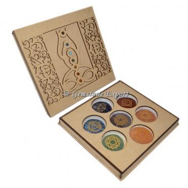 Buddha Symbol Wooden Gift Box