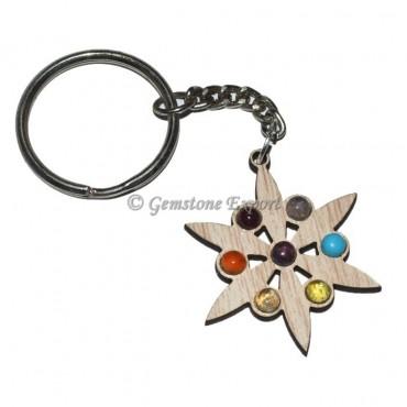 Star Chakra Keychain