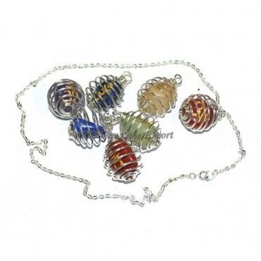 Chakra Tumble Sanskrit Necklace Set