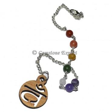 Chakra chain bead with vam