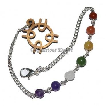 Chakra Chain ReikI Symbol Beads