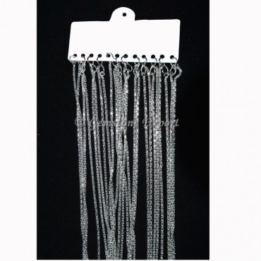 Box Silver Chain for Necklace