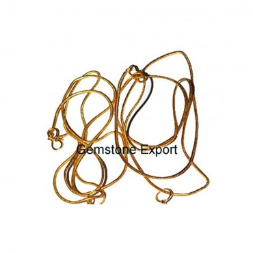Golden Snake Chain for Necklace
