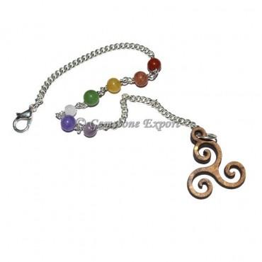 Chakra chain with Reiki Symbol