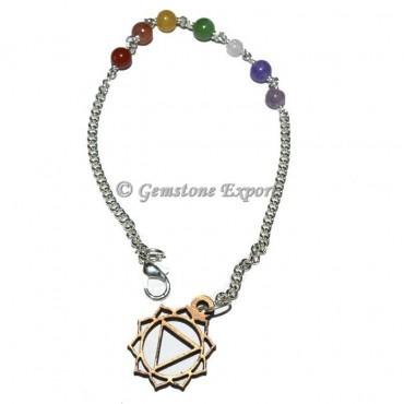 Solar Plexus Chakra Symbol Chain