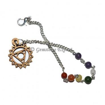Throat Chakra Symbol Chain