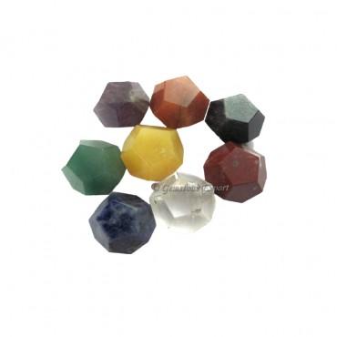 Seven Chakra Dodecahedron Set