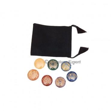 Seven Chakra circle Set